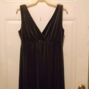 """""""Old Navy"""" Brown Velvet dress - new"""